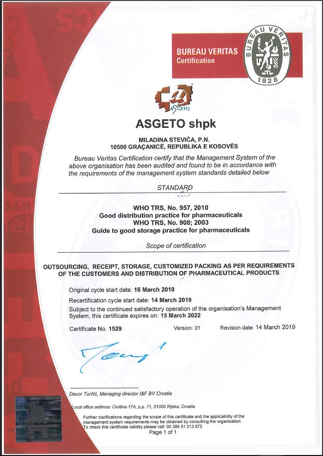 gdp certifikata